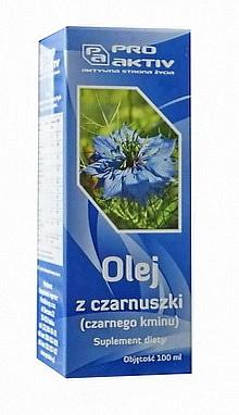 OLEJ Z CZARNUSZKI - CZARNEGO KMINU (100 ml)